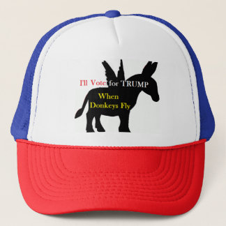When Donkeys Fly Trucker Hat