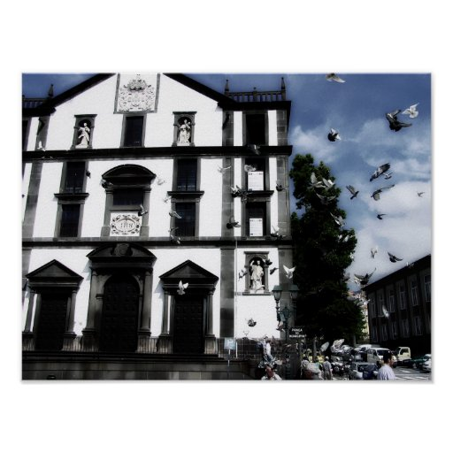 when doves fly Print & Poster