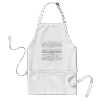When God Created The Military WifeThe Good Lord... Adult Apron