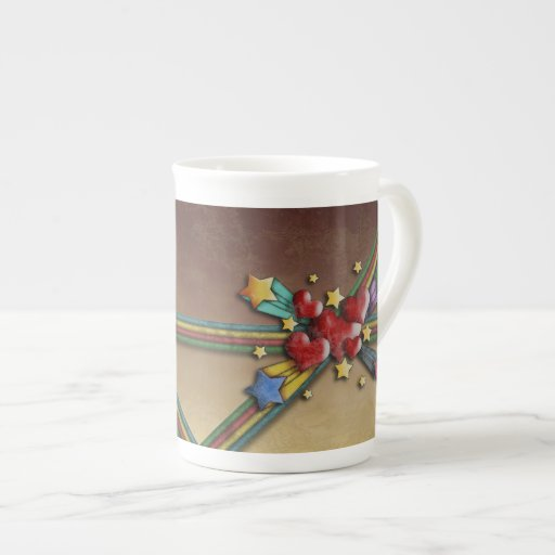 When Hearts Collide, specialty mugs Porcelain Mugs