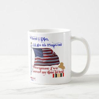 When I Die... Iraq War Veteran Mug