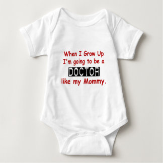 When I Grow Up 1.2 Doctor Like Mommy Baby Bodysuit