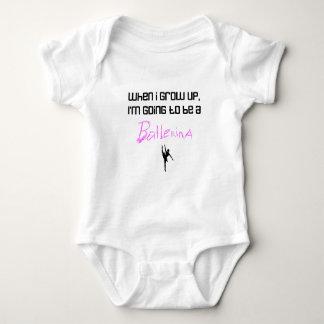 When I Grow Up .... Ballerina Baby Bodysuit
