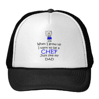 When I grow up Chef Cap