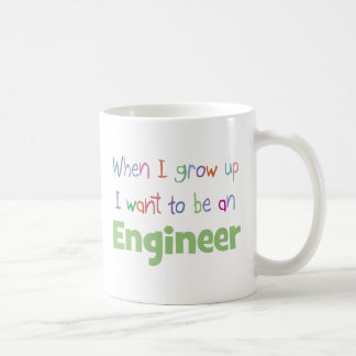 When I Grow Up Engineer Coffee Mug