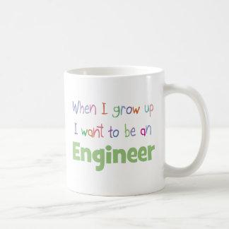 When I Grow Up Engineer Basic White Mug