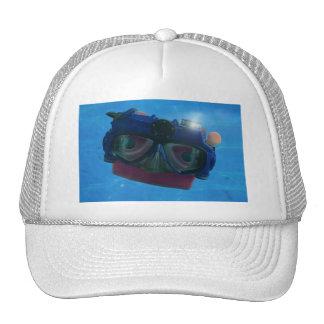 When I grow up, I wanna be a SCUBA mask! Mesh Hats