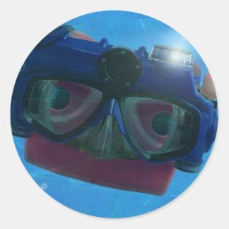 When I grow up, I wanna be a SCUBA mask! Sticker