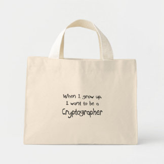 When I grow up I want to be a Cryptographer Bag