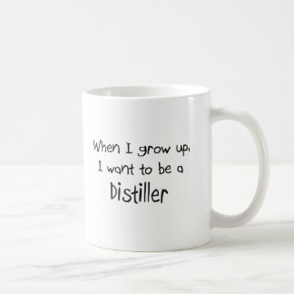 When I grow up I want to be a Distiller Basic White Mug