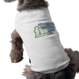 When I grow up I want to be a little kid again... Sleeveless Dog Shirt
