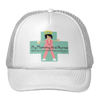 When I grow up I want to be a Nurse 3 Mesh Hat