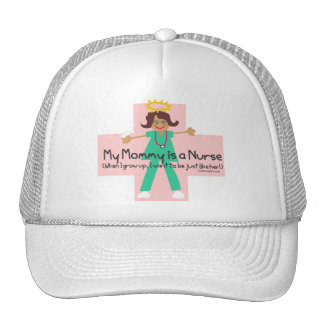 When I grow up, I want to be a Nurse Trucker Hat