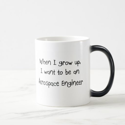 When I grow up I want to be an Aerospace Engineer Mugs