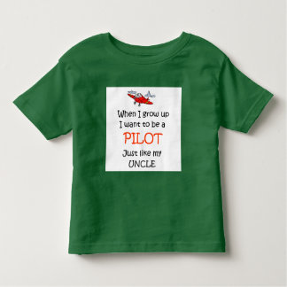 When I grow up Pilot Toddler T-Shirt