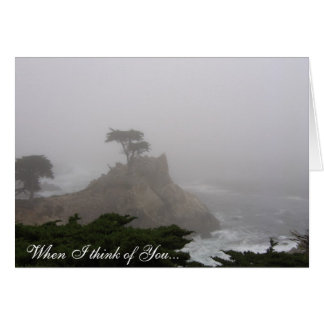 When I think of You... Greeting Card