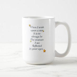 When I wish Upon a Stay-mug Basic White Mug