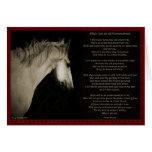 When I'm an Old Horsewomen Card