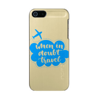 When In Doubt Travel Cloud Incipio Feather® Shine iPhone 5 Case