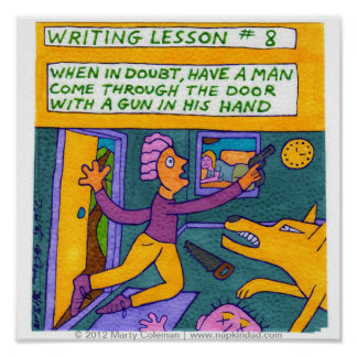 When in Doubt - Writing Lesson #8 Print