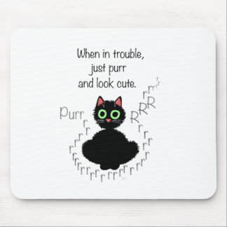 When in Trouble Mouse Mat