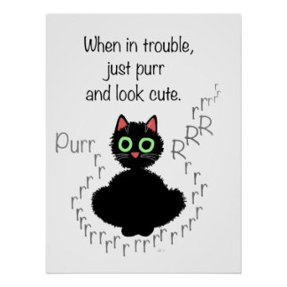 When in Trouble Poster