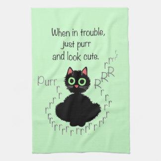 When in Trouble Tea Towel