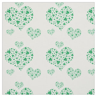 When Irish Hearts Are Flying. Fabric
