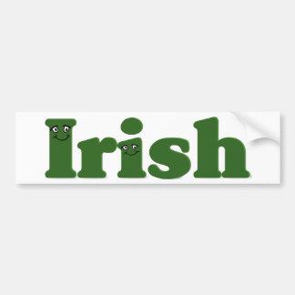 When Irish (i)es Are Smiling Bumper Stickers