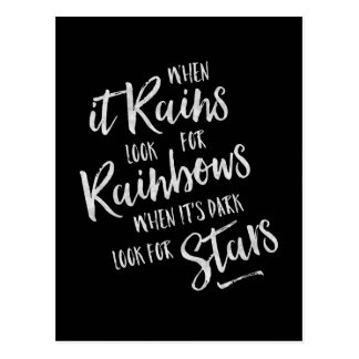 When It Rains - Inspirational Card