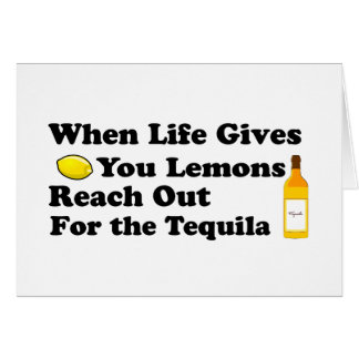 When Life Gives You Lemons.... Card