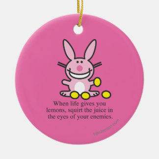 When Life Gives You Lemons Christmas Ornament