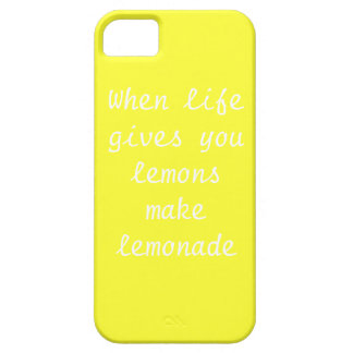 When life givs you lemons make lemonade Iphone5 Ca iPhone 5 Covers