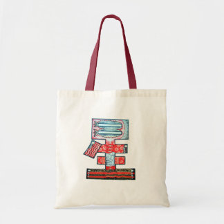"""When Money is Not Enough to Make You Happy"" Budget Tote Bag"