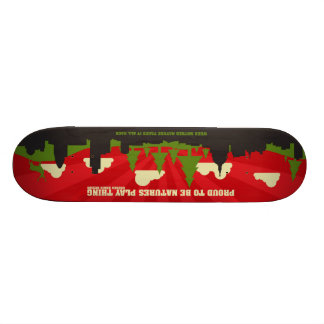 When Mother Nature takes it all back - Deck. Skate Board Decks