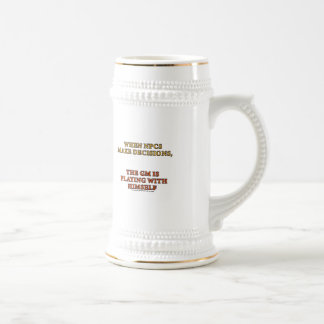 When NPCs Make Decisions Beer Stein