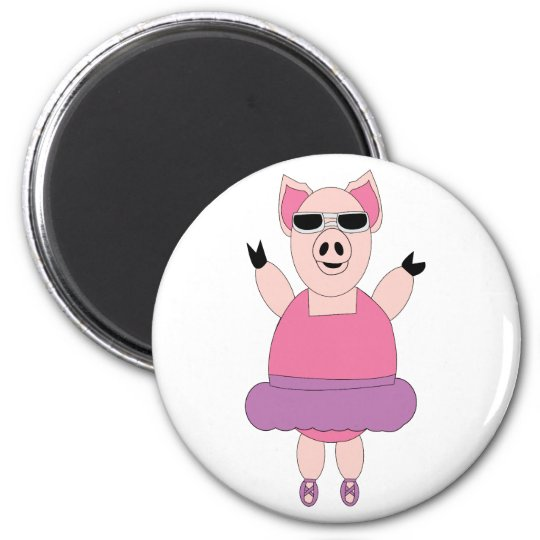 When Pigs Dance Magnet