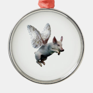 When Pigs Fly Christmas Ornament