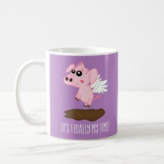 When Pigs Fly in the Year of the Pig Coffee Mug
