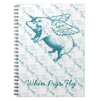 When Pigs Fly Notebook