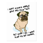 When pugs are sneezing