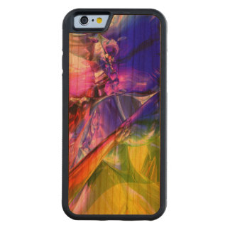 When Rainbows Collide Carved Cherry iPhone 6 Bumper Case