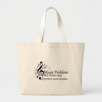 When that perfect reed breaks. large tote bag