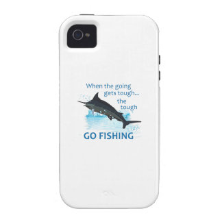 WHEN THE GOING GETS TOUGH iPhone 4 COVER