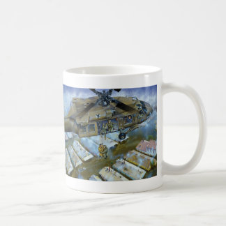 When the Levees Broke by David Russell Basic White Mug