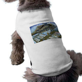 When the Levees Broke by David Russell Sleeveless Dog Shirt