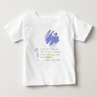 """""""When the stars look back at us"""" Baby T-Shirt"""