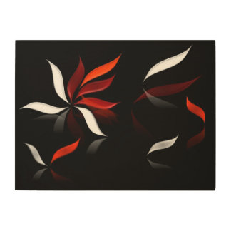 When the wind blows... wood wall decor