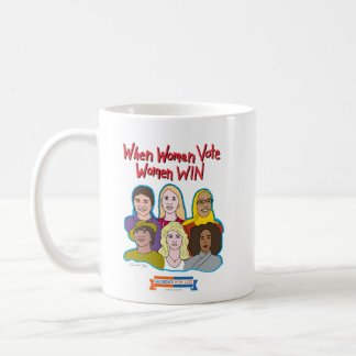 When Women Vote, Women WIN mug