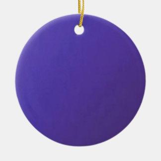 When you LOVE, you get HURT  Dark Blue Base Round Ceramic Decoration
